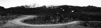 Wayne Barrar; Bruce Rd. Panorama 2, Ruapehu (3 images joined); 1986; 1987/2/5