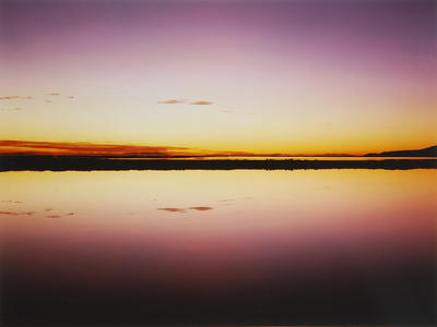 Deep storage pond 4 at sunrise