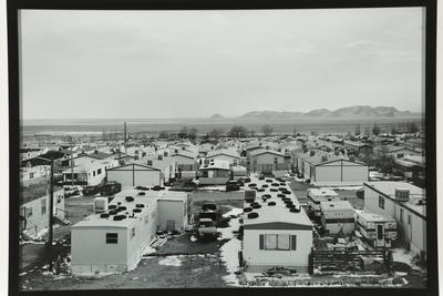 Across mobile homes, Wendover (Nevada side of State Line)
