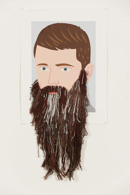 Boy with James K Baxter's Beard