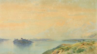 Lake Rotomahana 1872