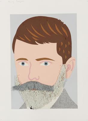 Boy with Henry Sarjeant's Beard