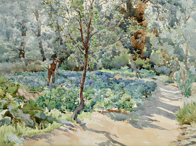 Anna Airy; Vegetable Garden; Pre 1953; 1953/2/1