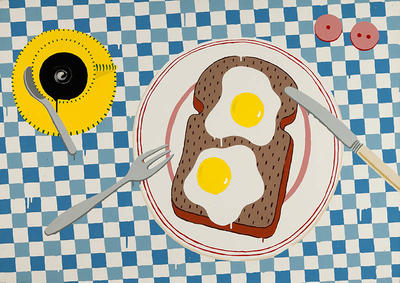 Paul Hartigan; New Zealand Breakfast; 1976; 1983/17/1