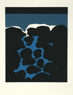 Michael Smither; Water Invading Rock Pool; 1969; 1983/27/10