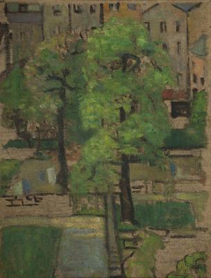 Trees Against Buildings, London