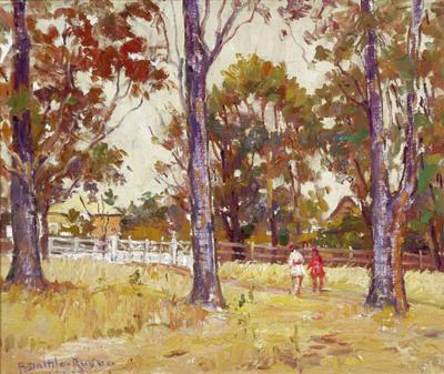Antonio Datilo Rubbo; The Park; Circa 1900-1950; 1959/2/1