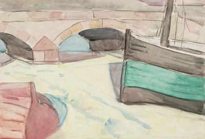 Edith Collier; Bridge, Cornwall; Circa 1913-1960; 2/21