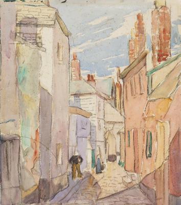 A Narrow Street, St. Ives