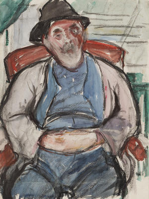 Study for Cornish Fisherman