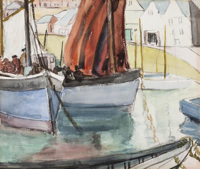 Fishing Boats - St. Ives