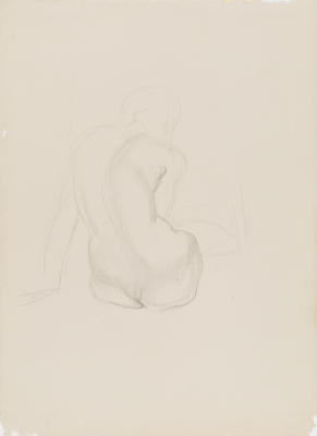 Study of Crouching Figure