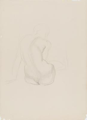 Study of Crouching Figure