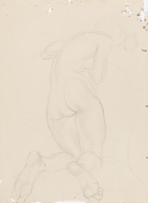 Crouching Figure Study