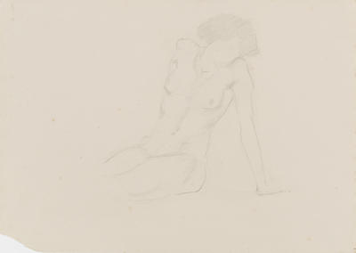Life Study, seated