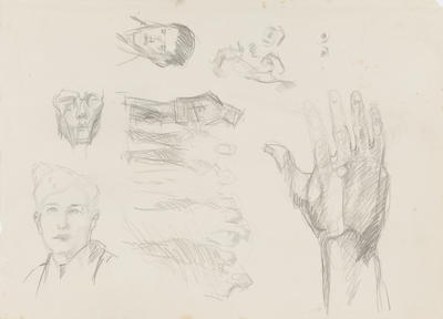 Face and Hand Studies