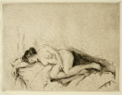 Mina Arndt; Nude; 1900-1926; 1961/2/5