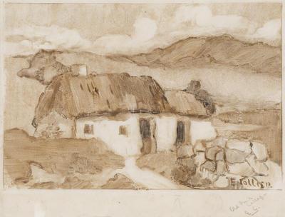 Untitled (Old Irish Cottages)