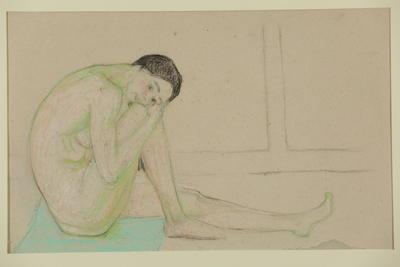 Sitting Nude Figure