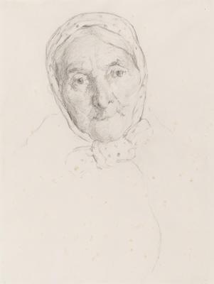 Study of Old Irish Woman