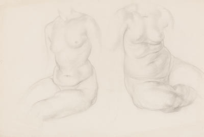 Untitled (Two Female Nudes)