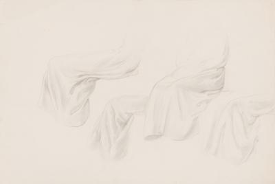 Untitled (Study of Drapery)