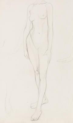 Untitled (Female Nude Study)