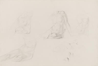 Untitled (Five Female Nude Studies)