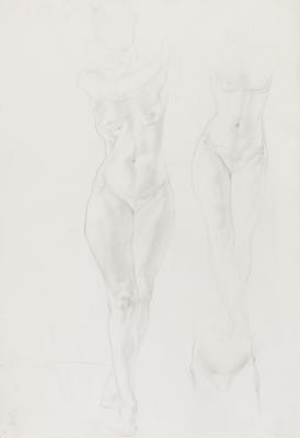 Untitled (Standing Female Nudes)