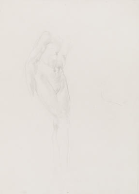 Untitled (Standing Male Nude Torso)