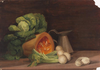 Untitled (Still Life with Pumpkin)