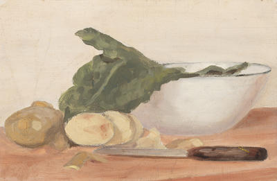 Still Life with Bowl and Knife