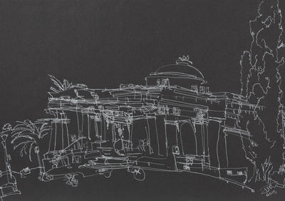 Tom Turner; Sarjeant Gallery (facing North West); 10 Jul 2018; 2018/7/7