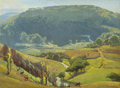 The Otford Valley, New South Wales