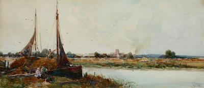 George Haite; On the Norfolk Broads; Unknown; 1913/1/2