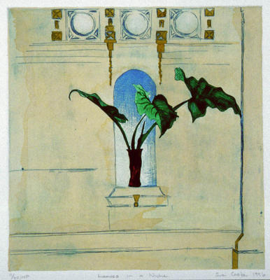 Sue Cooke; Leaves in a Niche; 1996; 1998/2/1