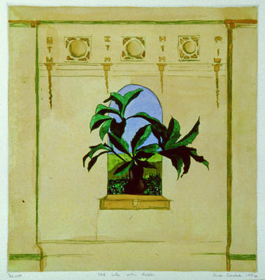 Sue Cooke; Still Life with Arch; 1996; 1998/2/3
