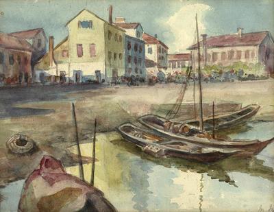 Minnie Izett; Naples; Circa 1900; 2004/14/1