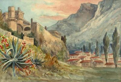 Minnie Izett; Monte Carlo; Circa 1900; 2004/14/3
