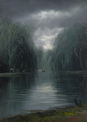 Untitled (Lake scene)