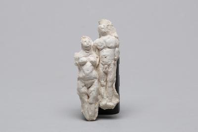 Ann Verdcourt; Two figures joined.; E2017/12