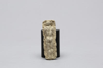 Ann Verdcourt; Male figure.; E2017/16