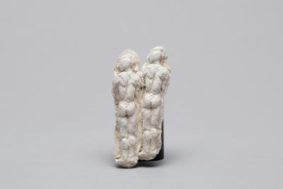 Ann Verdcourt; Two figures joined.; E2017/17