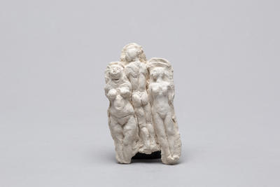 Ann Verdcourt; Three joined figures.; E2017/20