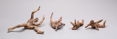 Four Icarus figures.
