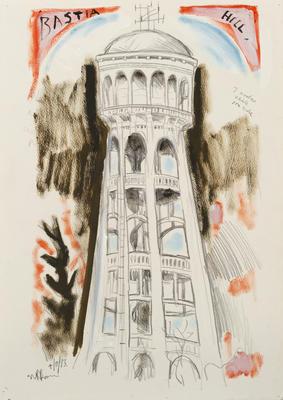 Bastia Hill (detail)