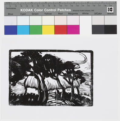 Untitled (A Cottage and Trees)