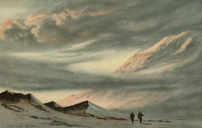 Mount Erebus April 2.11 6pm