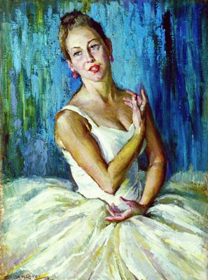 Ida Carey; Portrait of a Dancer - Miss Margaret Scrimshaw; 1958; 1958/7/1