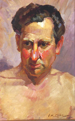 Ida Carey; Portrait of a Man; 1982/26/1